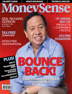 MoneySense Magazine Nov - Dec 2009