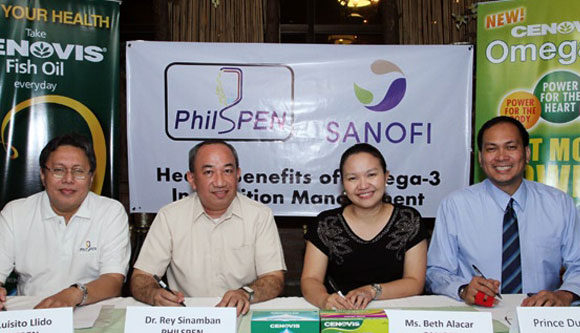 Photo of PHILSPEN and SANOFI Officers