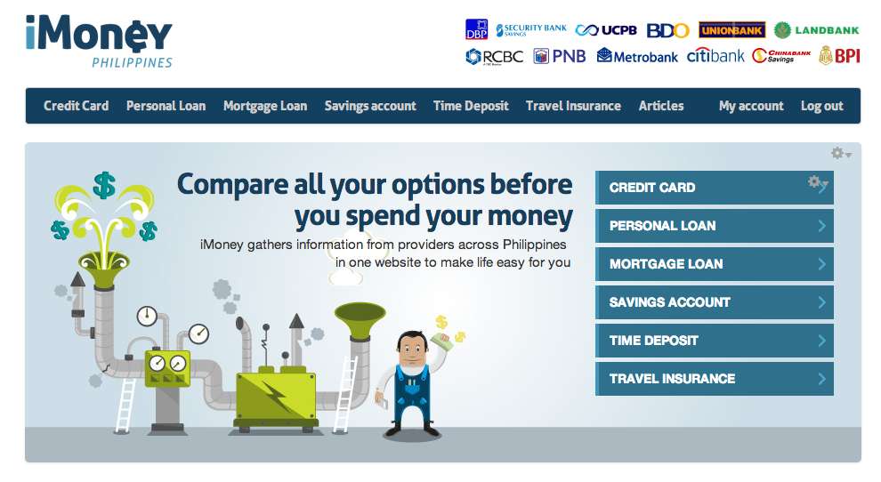 International financial product comparison website lands in the Philippines