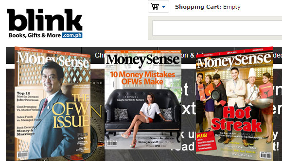MoneySense Magazines Now Available At Blink