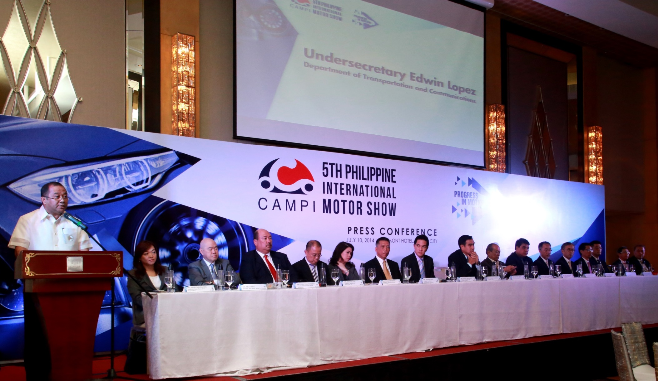 Campi Celebrates Industry Progress With The Launch Of The 5th Philippine International Motor Show (PIMS)