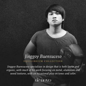 Denovo Diaries: Jinggoy Buensuceso Equilibrium Collection