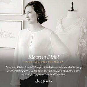 Denovo Diaries: Maureen Disini La Collezione Promessa