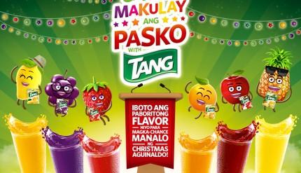 Gawing Makulay ang Pasko with Tang KV