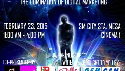 Transcendence: The Domination of Digital Marketing Poster