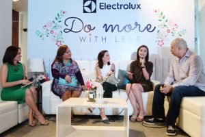 Electrolux Brand Ambassadors with Andrea Pionilla and Issa Litton