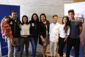 Team Pangilinan with Ms. Duday Gaston of USANA