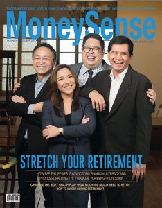MoneySense 4th quarter 2016 Issue cover photo