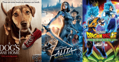 "SM Cinema features heroes in movies with ""A Dog's Way Home"", ""Alita: Battle Angel"" and ""Dragon Ball Super: Broly""!"