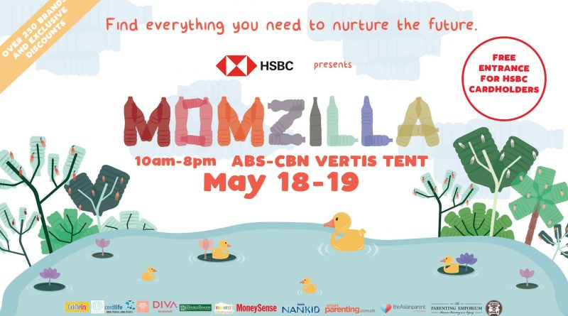 Momzilla Fair this weekend, May 18-19 from 10am to 8pm, at the ABS-CBN Vertis Tent, Quezon City
