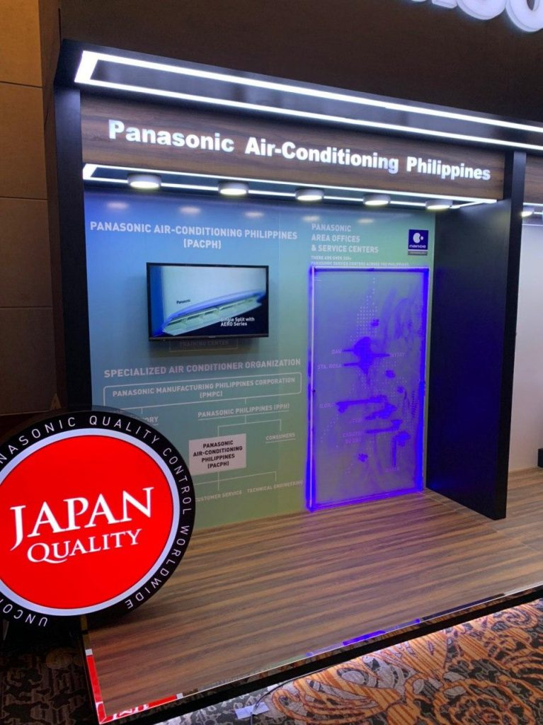 Panasonic launches a new company, the Panasonic Air Conditioning Philippines (PAC-PH).