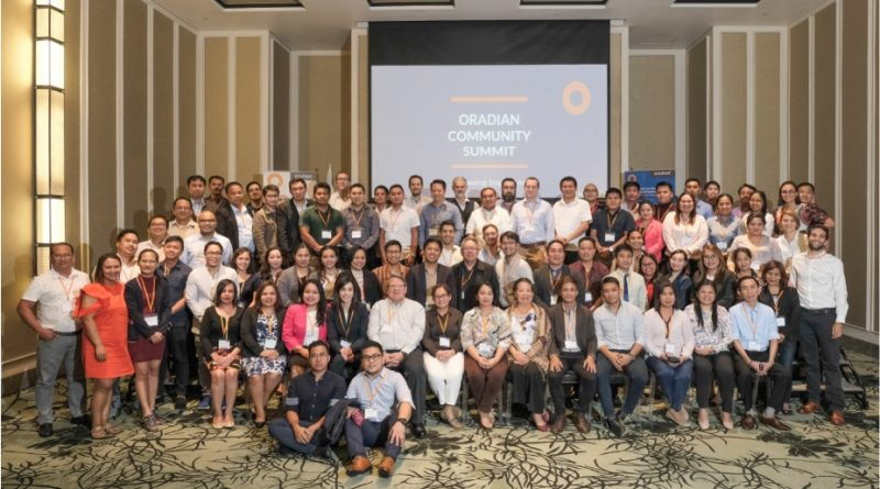 Oradian Community Summit, Manila, 25 October 2019.