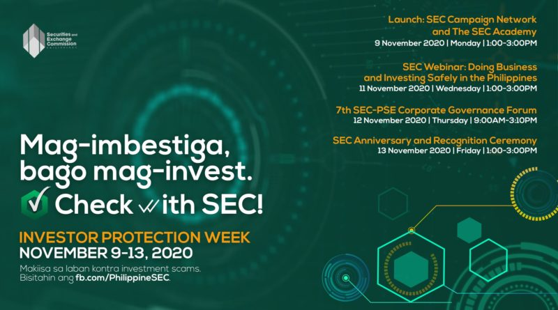SEC launches Investor Protection Week