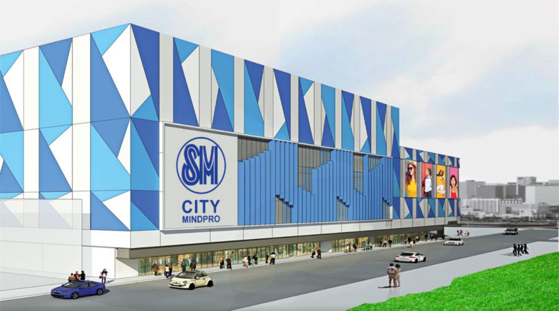 SM City Mindpro Mall Facade